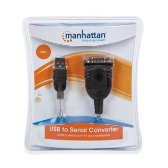 Преходник USB to Serial Manhattan