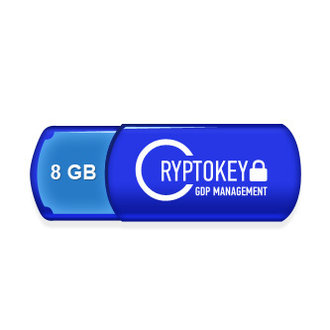 Microinvest CryptoKey GDP Management 8GB + ESET NOD32 Antivirus